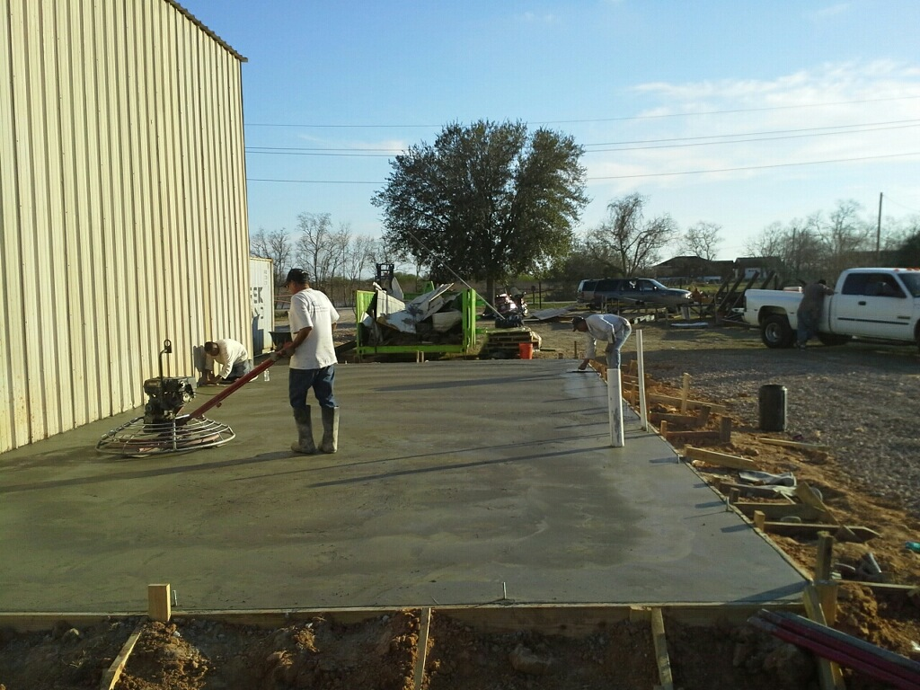 commercial concrete foundation