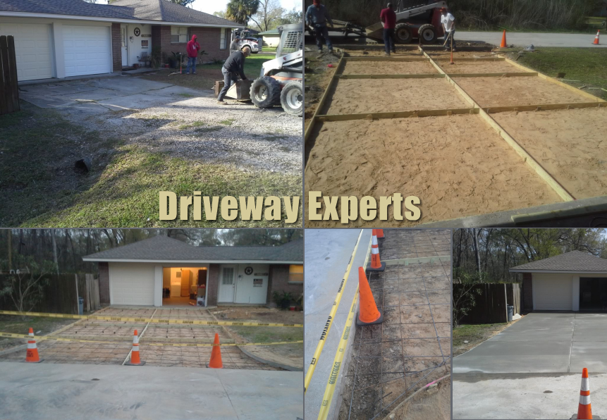concrete driveway experts