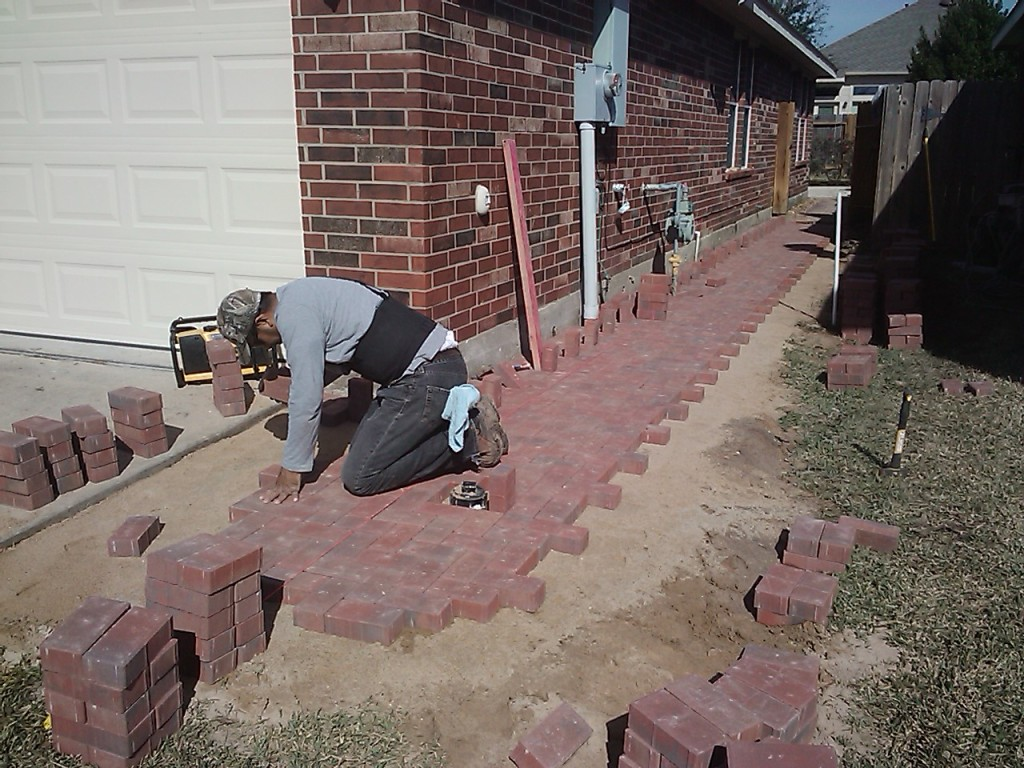 landscaping pavers houston