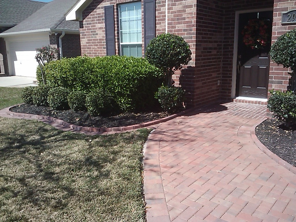 pavers used on walkways