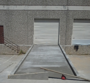 Warehouse Concrete Dock Ramp