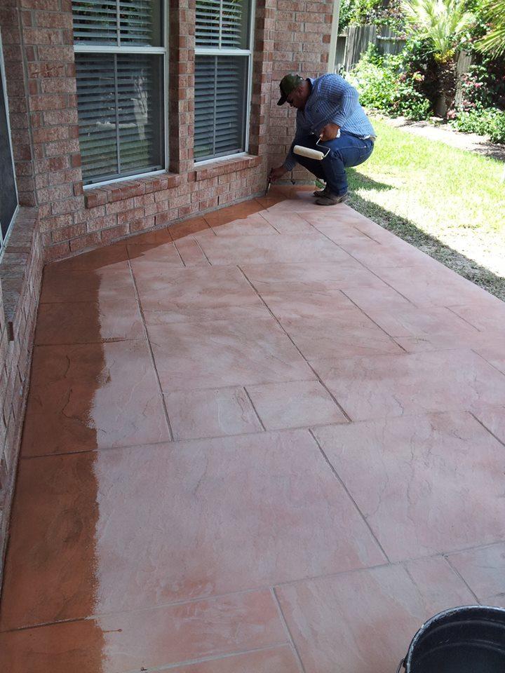 Concrete Stamped Patio Contractor