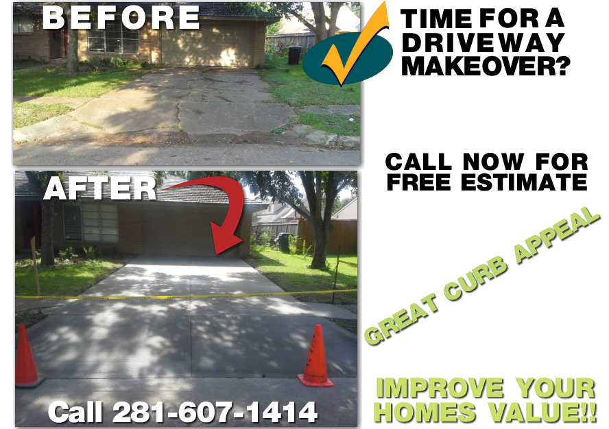 concrete driveway replacement costs