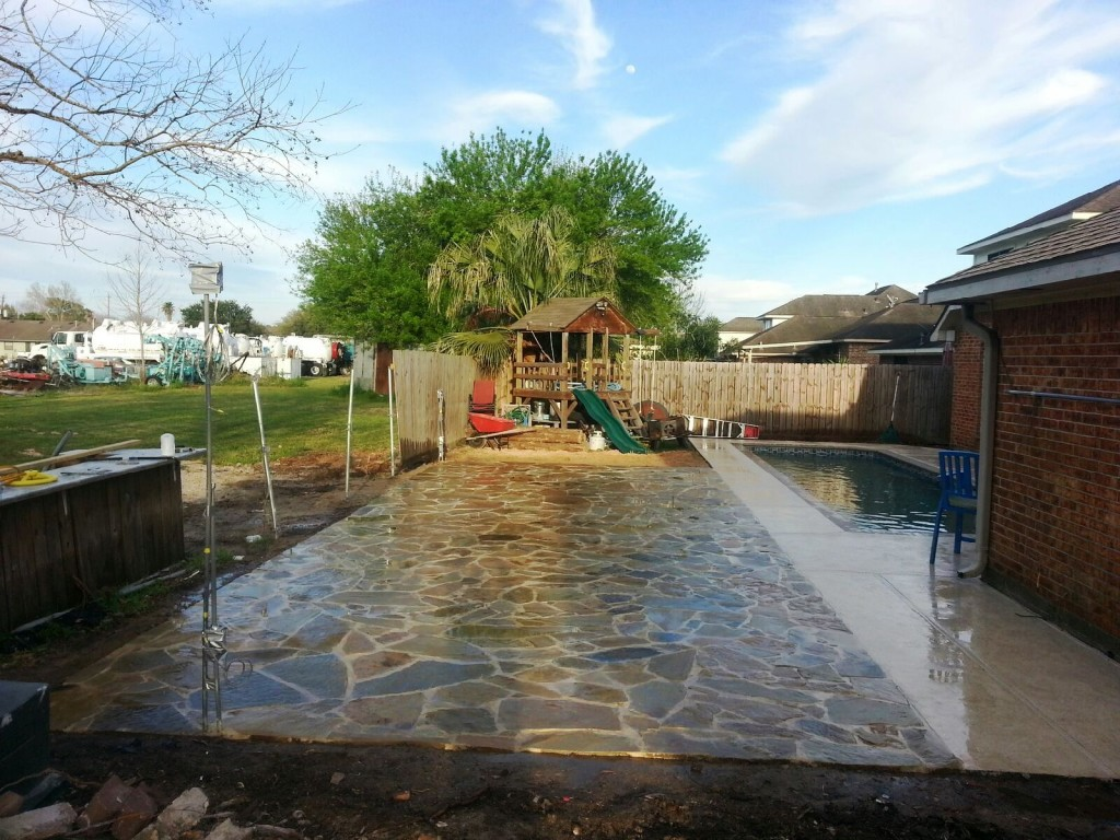 Flagstone patios in houston tx Flagstone patios colleyville tx