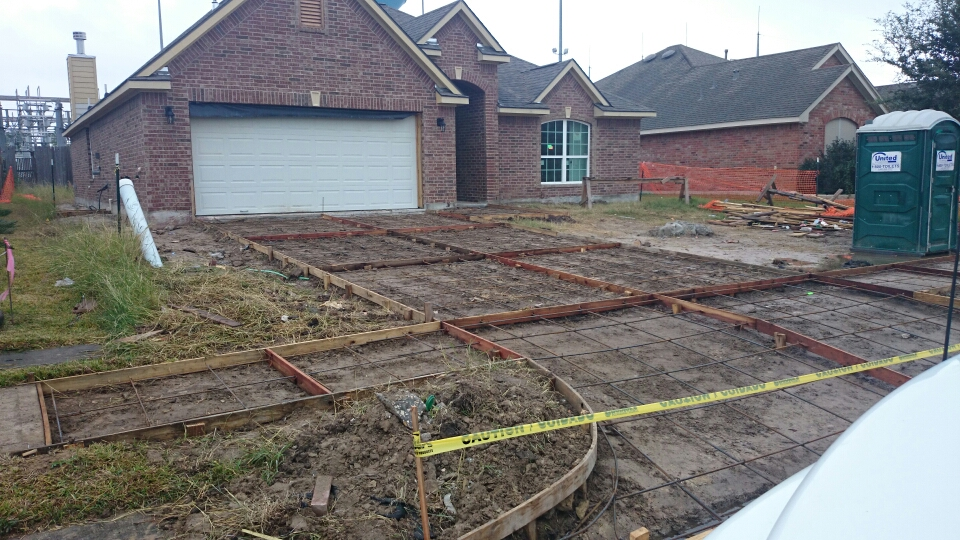 Concrete flatwork contractors slabs and foundations for Concrete home contractors