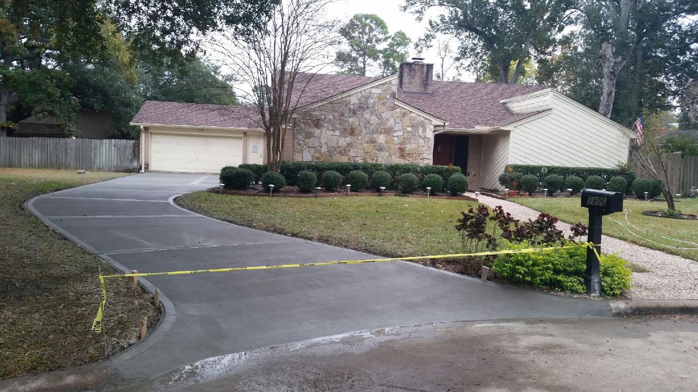 Houston Concrete Driveway Repair And Replacement Patios