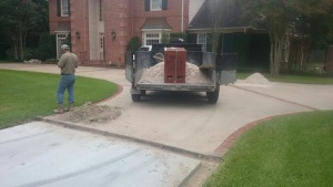 repair brick edging