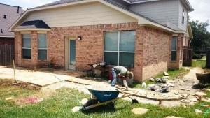 patio construction Spring TX