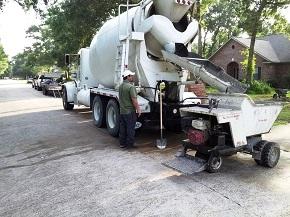 concrete delivery in Houston TX