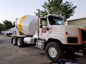 concrete delivery trucks