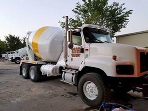 concrete delivery trucks
